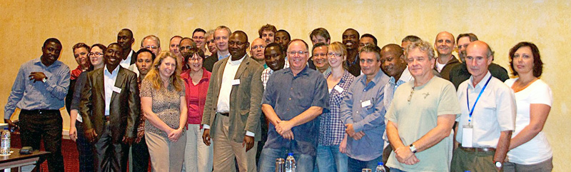 participants of the cameroon workshop